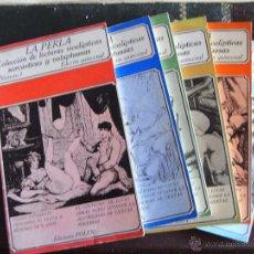 Libros de segunda mano: LA PERLA. COLECCIÓN DE LECTURAS SICALÍPTICAS, SARCÁSTICAS Y VOLUPTUOSAS. VARIOS NÚMEROS.. Lote 151064102