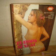 Libros de segunda mano: EUROPA SEXUAL - NROMAN JACKSON. Lote 42566675