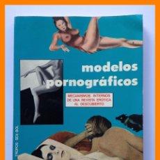 Livres d'occasion: MODELOS PORNOGRAFICOS - J. LIZAR. Lote 43019408