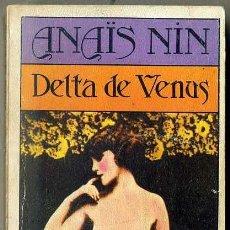 Libros de segunda mano: ANAIS NIN : DELTA DE VENUS (BRUGUERA, 1981). Lote 43567137
