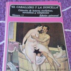 Libros de segunda mano: EL CABALLERO Y LA DONCELLA - Nº13. Lote 44261347