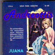 Libros de segunda mano: JUANA LA LUJURIOSA. POR FERNANDO RIVERA. COLECCIÓN PIMIENTA Nº 174 - A. MIAMI 1973. Lote 45250953