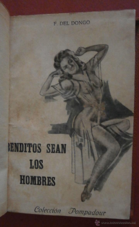 BENDITO SEAN LOS HOMBRES. F. DEL DONGO (Libros de Segunda Mano (posteriores a 1936) - Literatura - Narrativa - Erótica)