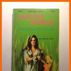 Livros em segunda mão: LASCIVIA INFINITA - ALEJANDRO MARIN - COLECCION PIMIENTA Nº 157-A . Lote 47890711