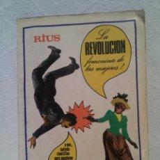 Libros de segunda mano: RÍUS-LA REVOLUCIÓN FEMENINA DE LAS MUJERES-GRIJALBO-EJEMPLARES LIMITADOS-1979. Lote 47965040