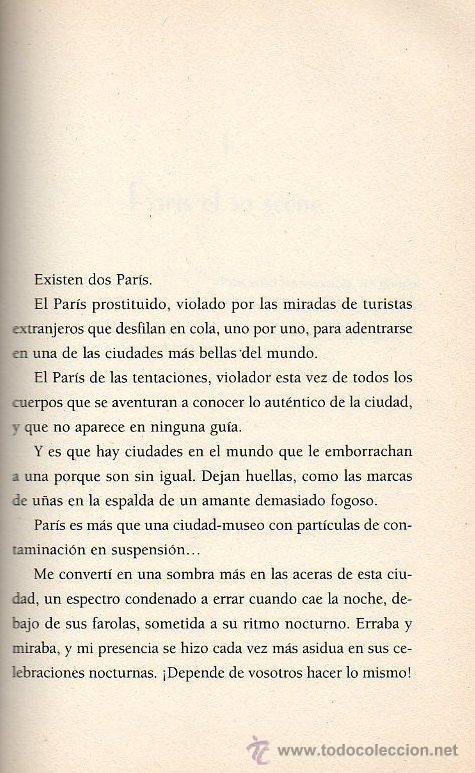 Libros de segunda mano: PARIS LA NUIT - VALÉRIE TASSO (AUTORA DE DIARIO DE UNA NINFÓMANA). ED.PLAZA & JANES, 2004 - Foto 2 - 49007049