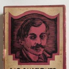 Libros de segunda mano: LAS CANCIONES DE BILITIS- PIERRE LOUYS- EDITORIAL TOR 1939. Lote 49867877