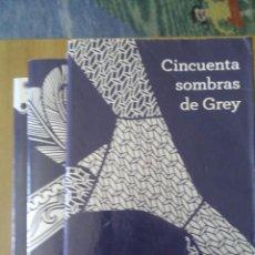 Libros de segunda mano: CINCUENTA SOMBRAS DE GREY, TRILOGÍA / E.L.JAMES / 1ª EDICIÓN 2013 / EDITORIAL GRIJALBO. Lote 105948746