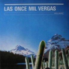 Libros de segunda mano: LAS ONCE MIL VERGAS. APOLLINAIRE. Lote 53523174