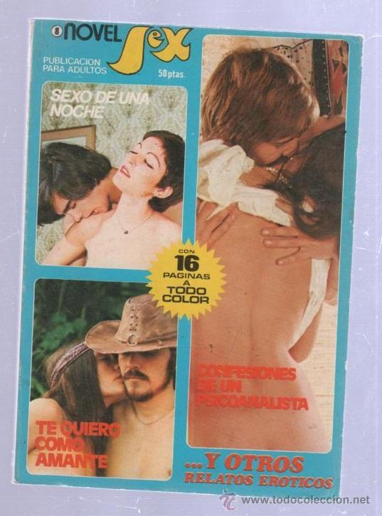 NOVEL SEX. RELATOS EROTICOS. Nº 8. IBERO MUNDIAL DE EDICIONES. 1978 (Libros de Segunda Mano (posteriores a 1936) - Literatura - Narrativa - Erótica)