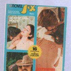 Libros de segunda mano: NOVEL SEX. RELATOS EROTICOS. Nº 8. IBERO MUNDIAL DE EDICIONES. 1978. Lote 51119896