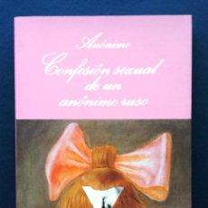 Libros de segunda mano: NOVELA ERÓTICA SONRISA VERTICAL CONFESIÓN SEXUAL DE UN ANÓNIMO RUSO TUSQUETS DIR BERLANGA 1ª EDICIÓN. Lote 52754218
