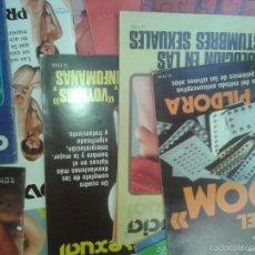 Libros de segunda mano: LIBROS SEXUALIDAD - CONVIVENCIA SEXUAL 46 NUMEROS NO CORRELATIVOS 21X28 CM. Lote 56201479
