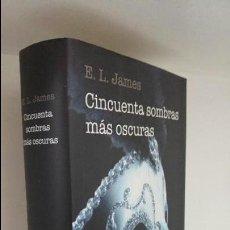 Libros de segunda mano: CINCUENTA SOMBRAS MÁS OSCURAS . Lote 56546537