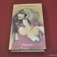 Libros de segunda mano: PLACERES - LONNIE BARBACH - CIRCULO DE LECTORES - NEB. Lote 56714055