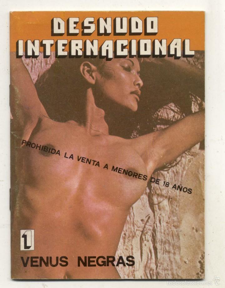 DESNUDO INTERNACIONAL / VENUS NEGRAS (Libros de Segunda Mano (posteriores a 1936) - Literatura - Narrativa - Erótica)