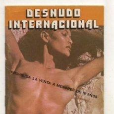 Libros de segunda mano: DESNUDO INTERNACIONAL / VENUS NEGRAS . Lote 57385431