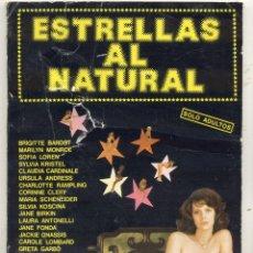 Libros de segunda mano: ESTRELLAS AL NATURAL / EL DESNUDO Y EL EROTISMO EN LA HISTORIA DEL CINE . Lote 57450719