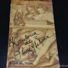 Livros em segunda mão: HISTORIA DE ALINE Y VALCOUR-MARQUÉS DE SADE-ESPIRAL.. Lote 58400579