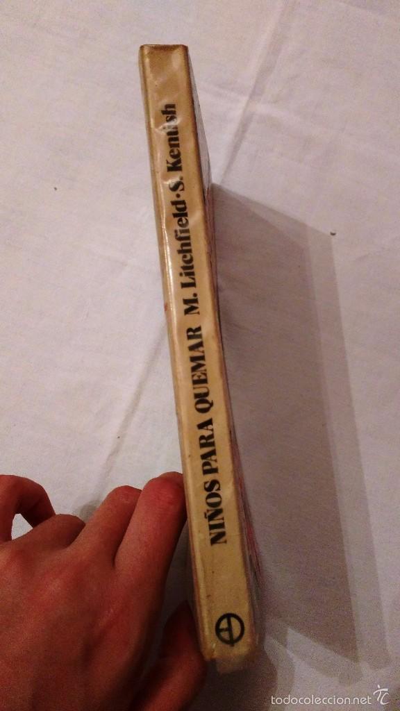 Libros de segunda mano: Libro: Niños para quemar, la industria mundial del aborto - M Litchfield, S Kentish - 1976 - Foto 2 - 59588439