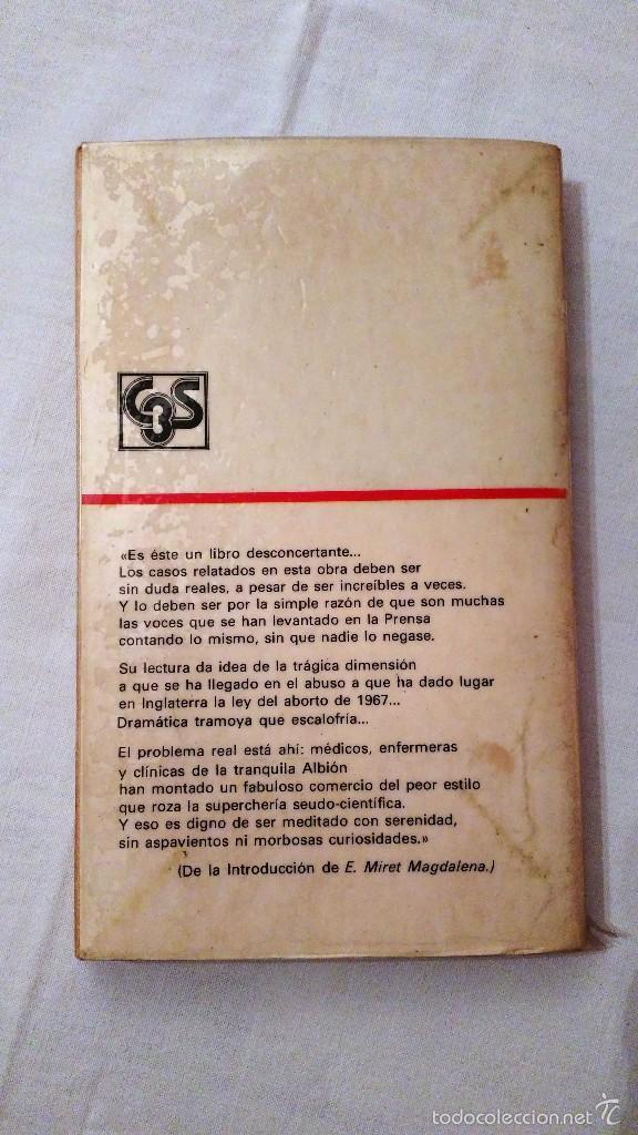 Libros de segunda mano: Libro: Niños para quemar, la industria mundial del aborto - M Litchfield, S Kentish - 1976 - Foto 3 - 59588439