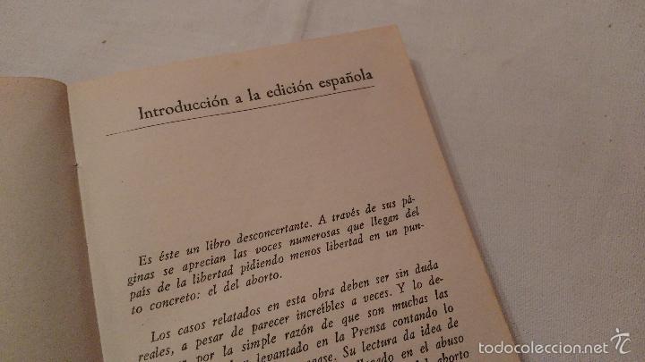 Libros de segunda mano: Libro: Niños para quemar, la industria mundial del aborto - M Litchfield, S Kentish - 1976 - Foto 5 - 59588439