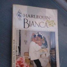 Libros de segunda mano: NOVELA HARLEQUIN BIANCA NOS QUEDA EL AMOR SANDRA MARTON. Lote 62531684