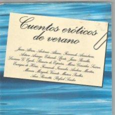Libros de segunda mano: CUENTOS EROTICOS DE VERANO. AA.VV. TUSQUETS. Lote 63769019
