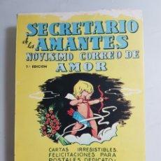 Libros de segunda mano: SECRETARIO DE LOS AMANTES ? NOVISIMO CORREO DE AMOR - CUENCA, ANGELITA. Lote 65862343
