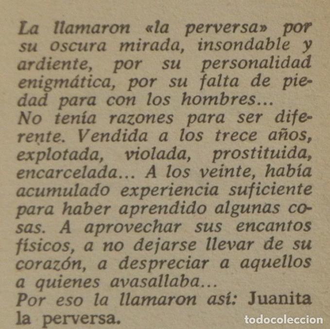 Libros de segunda mano: JUANITA LA DOMÉSTICA PERVERSA - LIBRO - NOVELA -¿ ERÓTICA - EROTISMO ?- VÍCTOR ZABILDEA - COLL. LIB - Foto 3 - 68675065