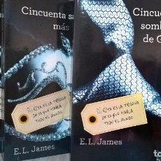 Libros de segunda mano: TRILOGIA CINCUENTA SOMBRAS DE GREY, GRIJALBO. Lote 68913181