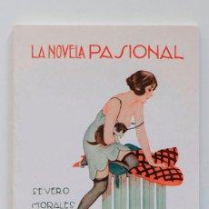 Libros de segunda mano: LAS IMPUREZAS DE PURA- LA NOVELA PASIONAL- SEVERO MORALES. Lote 69406981