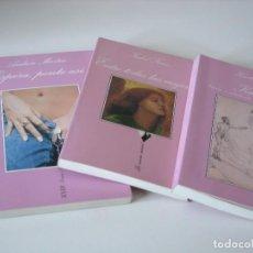 Libros de segunda mano: 3 NOVELAS ERÓTICAS LA SONRISA VERTICAL. Lote 71775015