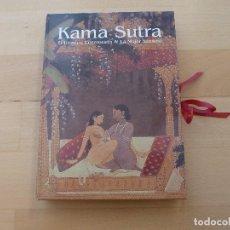 Libros de segunda mano: LIBRO KAMA SUTRA HOMBRE ENAMORADO MUJER SENSUAL EDICION INDIA KAMASUTRA. Lote 72093807