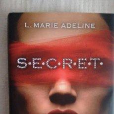 Libros de segunda mano: S.E.C.R.E.T. DE L. MARIE ADELINE CIRCULO DE LECTORES. Lote 79627777