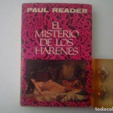 Libros de segunda mano: PAUL READER. EL MISTERIO DE LOS ARENES. 1973. . Lote 82772784