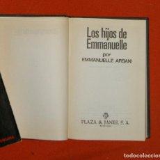 Libros de segunda mano: LOS HIJOS DE EMMANUELLE, ARSAN. Lote 84281484