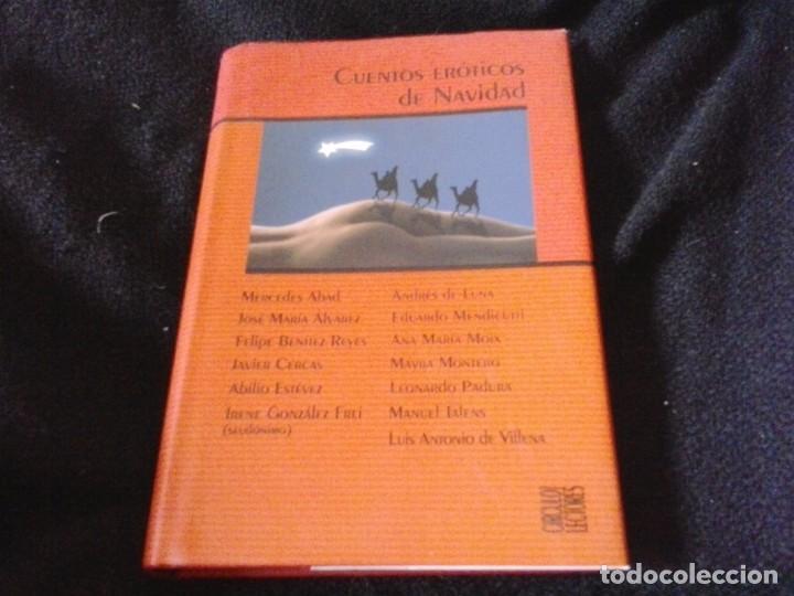 CUENTOS ERÓTICOS DE NAVIDAD / VARIOS AUTORES TAPA DURA (Libros de Segunda Mano (posteriores a 1936) - Literatura - Narrativa - Erótica)