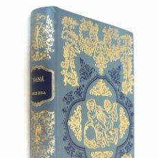 Libros de segunda mano: 1983 - BIBLIOFILIA - EROTISMO - EMILIO ZOLÁ: NANÁ - ILUSTRADO - 24 GRABADOS - CLÁSICOS LICENCIOSOS . Lote 85608224
