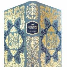 Libros de segunda mano: 1983 - BIBLIOFILIA - EROTISMO - CHODERLOS DE LACLOS: LAS RELACIONES PELIGROSAS - 15 GRABADOS . Lote 85612716