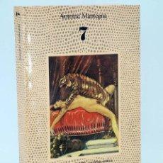 Libros de segunda mano - LA FUENTE DE JADE, NARRATIVA ERÓTICA 7 (Antoine Mantegna) Alcor, 1989 - 87289280