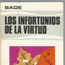Livres d'occasion: MARQUES DE SADE. LOS INFORTUNIOS DE LA VIRTUD. EDAF. Lote 88892696