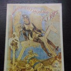Libros de segunda mano: OBRAS EROTICAS Y SACRILEGAS DE FELICIEN ROPS, MAC ORLAN, PIERRE Y HUYSMANS, JORIS KARL, 1979. Lote 90561750