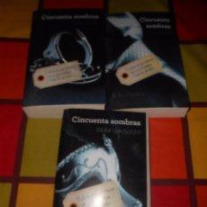 Libros de segunda mano: TRILOGÍA CINCUENTA SOMBRAS DE GREY.. Lote 93938155