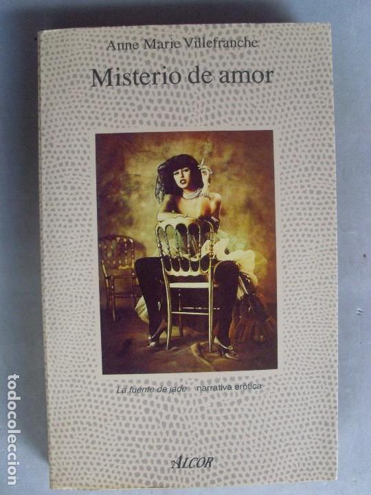 MISTERIO DE AMOR ANNE MARIE VILLEFRANCHE / 1991 (Libros de Segunda Mano (posteriores a 1936) - Literatura - Narrativa - Erótica)