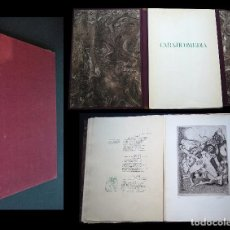 Libros de segunda mano: CARAJICOMEDIA DE FRAY BUGEO MONTESINO. CON 10 AGUAFUERTES DE JULIO ZACHRISSON. Lote 97071635