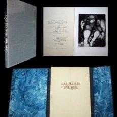 Libros de segunda mano: LAS FLORES DEL MAL. CON 10 AGUAFUERTES DE PIERRE DABOVAL. GISA 1976. EJEMPLAR BON A TIREÉR.. Lote 97078535