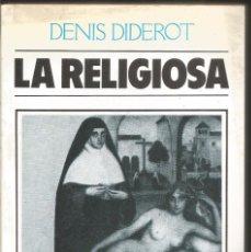 Libros de segunda mano: DENIS DIDEROT. LA RELIGIOSA. . Lote 99106251