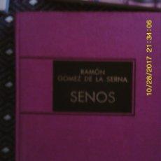Libros de segunda mano: LIBRO Nº 940 SENOS. Lote 101711711