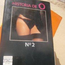 Libros de segunda mano: LIBRO HISTORIA DE O Nº2 1988 ED. PLAZA Y JANES L-4898-1008. Lote 146919172